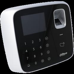 Zugangskontrolle innen mit karte, tastatur und fingerabdruck typ rfid 125khz