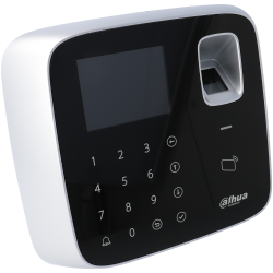 Zugangskontrolle innen mit karte, tastatur und fingerabdruck typ mifare 13.56mhz