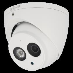 4 in 1 (cvi, tvi, ahd und analog) DAHUA minidome Kamera mit 8 megapíxeles und fixes objektiv