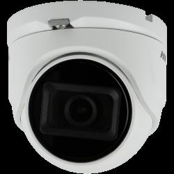 4 in 1 (cvi, tvi, ahd und analog) HIKVISION PRO minidome Kamera mit 8 megapíxeles und fixes objektiv